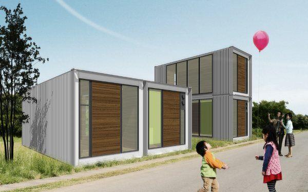 M s de 1000 ideas sobre casas de contenedores de carga en - Viviendas con contenedores ...