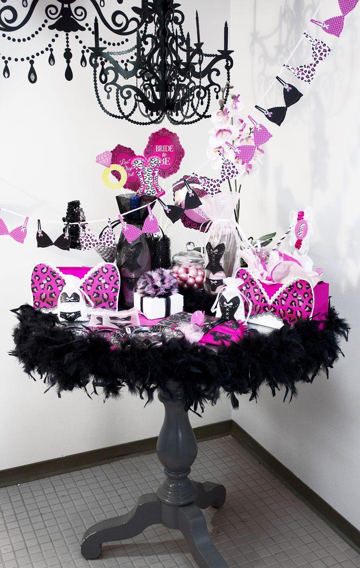 66 Best Lingerie Shower Bachelorette Party Images On Pinterest