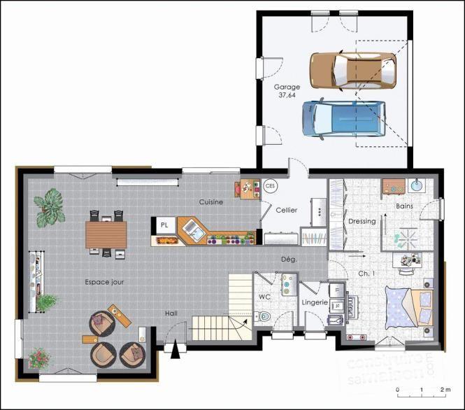 Plan Maison Container Gratuit Pdf House Plans Architecture Floor Plans