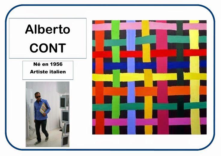 Alberto Cont - Portrait d'artiste