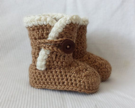 Free Crochet Pattern Baby Snow Boots : Crochet Baby Sn