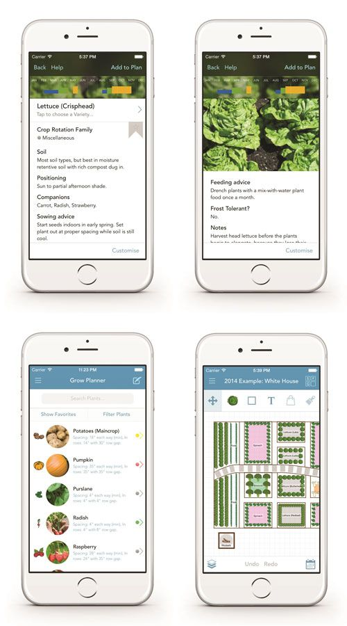 plan next year s garden with the mother earth news grow planner app just released in a sleek. Black Bedroom Furniture Sets. Home Design Ideas