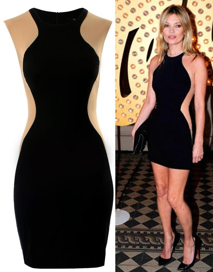 Optical Illusion dress Style Kate Moss
