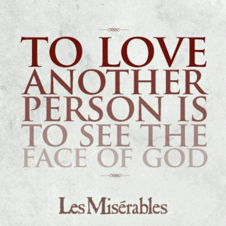 Anyone who has read Les Miserables, or is good at understanding quotes....?