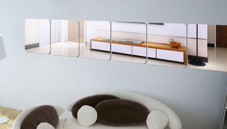 Specchi Adesivi Decorativi per Pareti dal Design Particolare | MondoDesign.it