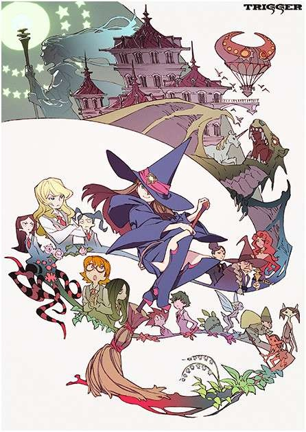 Studio Trigger Little Witch Academia Trailer Streamed