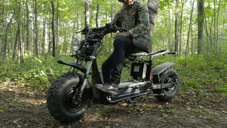 The Beast D Off-Road Scooter | DudeIWantThat.com