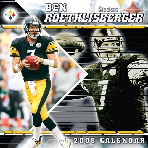 NFL Ben Roethlisberger Wall - 2008 Calendar - Buy NFL Ben Roethlisberger Wall - 2008 Calendar - Purchase NFL Ben Roethlisberger Wall - 2008 Calendar (Calendars