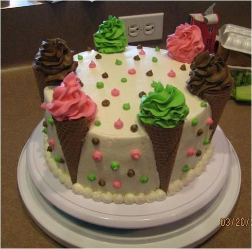 The 25+ Best Ice Cream Birthday Cake Ideas On Pinterest