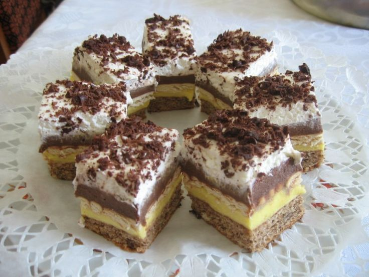 Kakaós – pudingos szelet – Csodafinom lett ez a süti, és készítés módja nagyon…