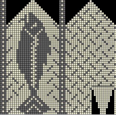Fiskevotter/mitten pattern