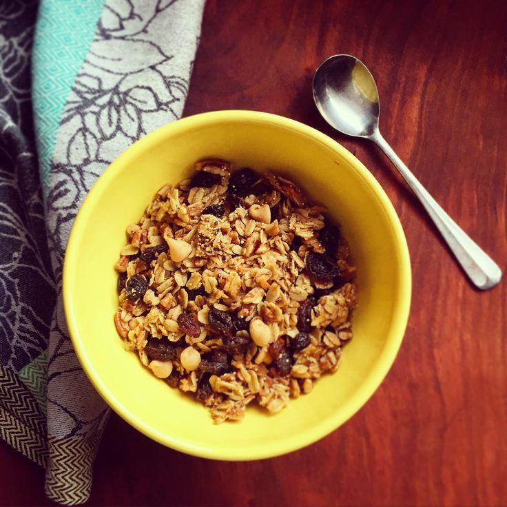 Easy granola recipe!