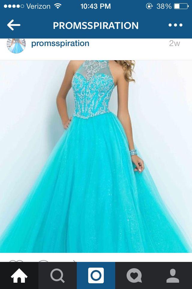 Beautiful blue dress just gorgeous