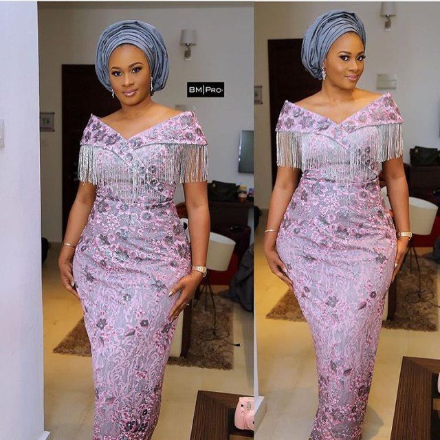 French Lace Aso Ebi Styles 2018 For African Ladies Aso Ebi