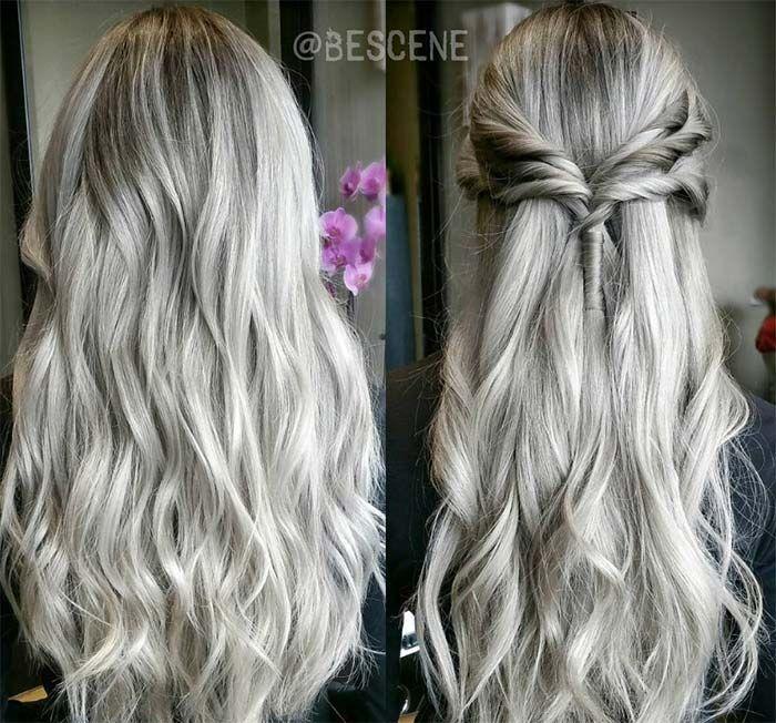 Best 25+ Ash grey hair dye ideas on Pinterest | Ash ombre, Grey ...