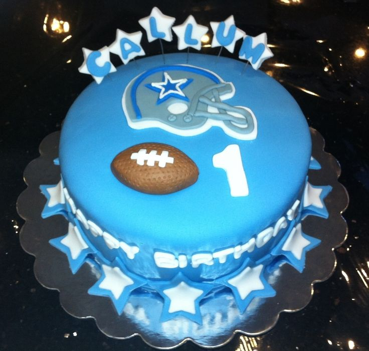 Dallas Cowboys Football Birthday Cake