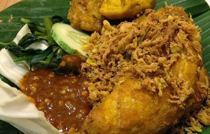 Resep Ayam Goreng Kuning Sambal Bajak resep masakan ayam penyet goreng paling mudah kumpulan cerita lucu