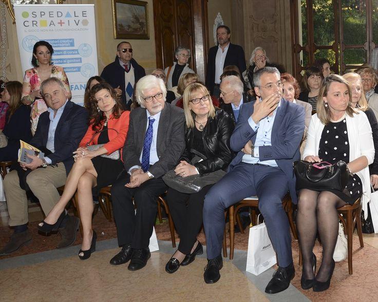 Sfilata Moda Poluzzi II parte - Ospiti - Prof. Franzoni della FANEP