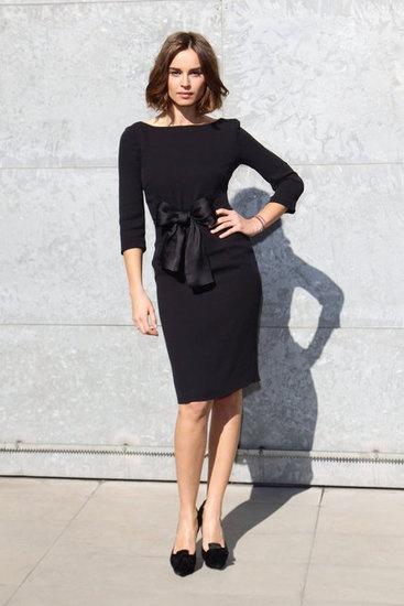 classFashion Passion, Black Dresses, Kasia Smutniak, 2012 Street, Chic Bows, Fall 2012, Everyday Dresses, Milan Fashion Weeks, 4Ever Class