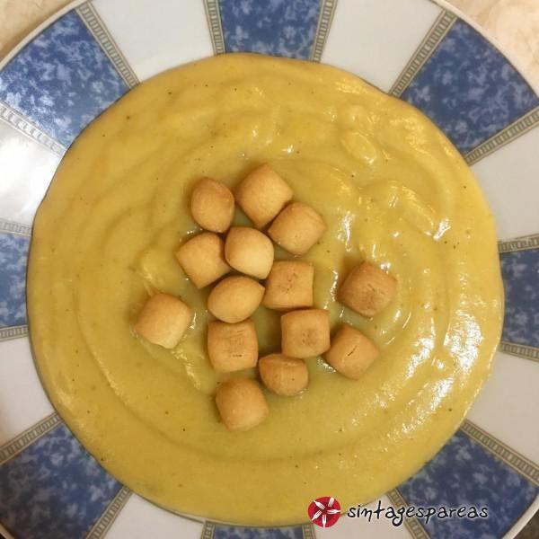 Βελουτέ πατάτας #sintagespareas #veloutepatatas