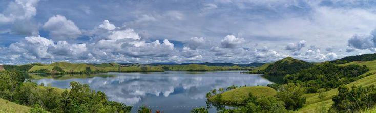 The Beauty Of Lake Sentani by TOSHI KENZO MDP™