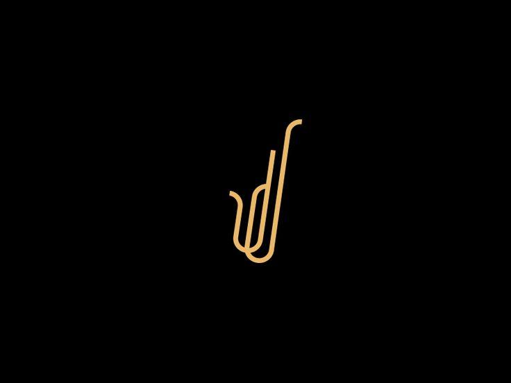 JJ - Saxophonist logo