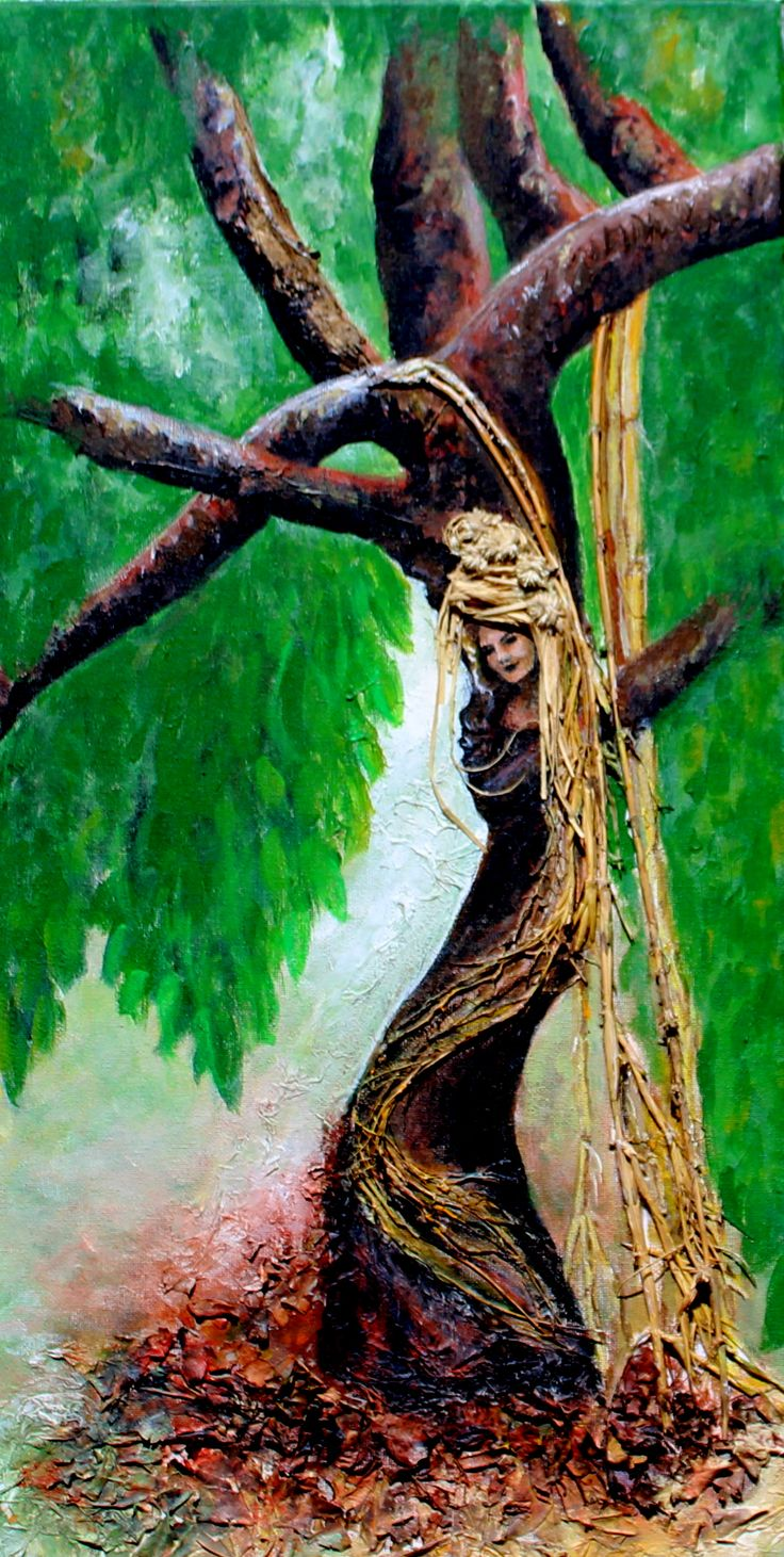 """No 3 """"Lady of the Tree"""" $130 SOLD"""