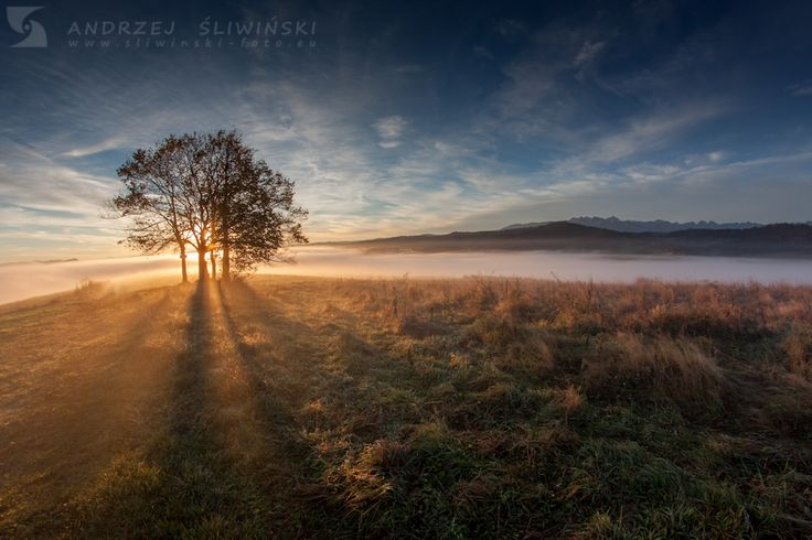 Morning view from the Pieniny Mountains, Poland.   www.simplycarpathians.com