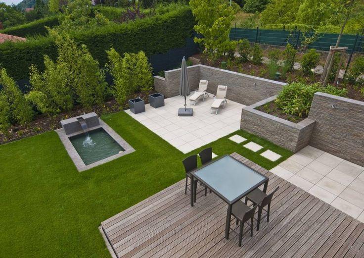 18 besten Holzhaus Bilder auf Pinterest Barrierefreies bauen - terrasse hanglage modern
