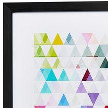 Triangle Print - 35 x 50cm