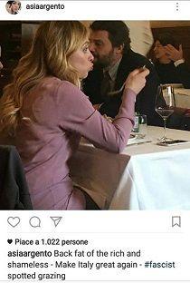 La Argento attacca la Meloni definendola grassa e fascista e invitandola a vergognarsi laddove a farlo dovrebbe essere chi rivolge accuse gratuite
