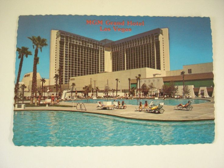 Mgm Grand Hotel Las Vegas Swimming Pool 1970s At Home In Old Las Vegas Pinterest Grand