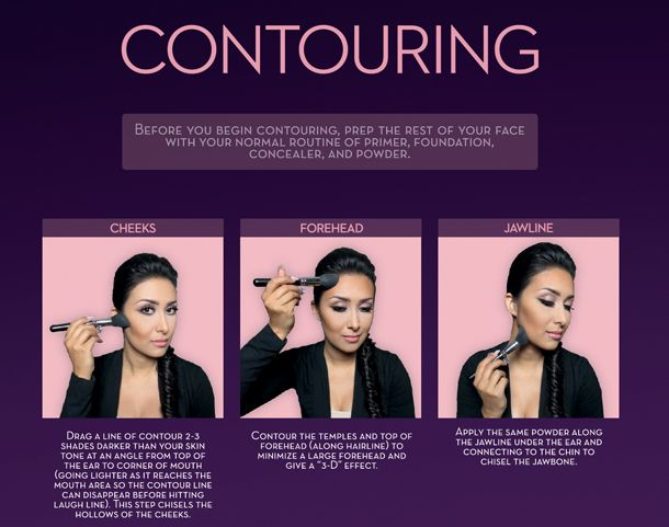 A step-by-step tutorial, from Beverly Hills' make up maestro Anastasia Soare and Instagram...