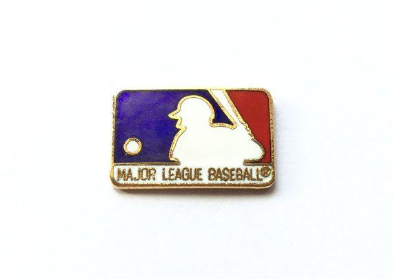 1988 LOGO Pin New MLB Major League Baseball by RetroPixelsAndToys