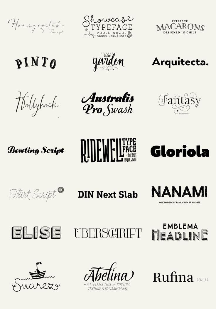 topfonts: 100 Best Fonts of 2014To close the big feature I made to the best fonts of 2014 here I bring you a big wall post of the 100 fonts in a form of a logotype, just as the designers have decided to display and promote their own typefaces. Check the big list below and click the name you want: Galano Grotesque by Rene Bieder Nexa Rust by Fontfabric Glober by Fontfabric Adorn by Laura Worthington Selfie by Lián Types Trend Rough by Latinotype Lulo Clean by Yellow Design Studio Harman by…