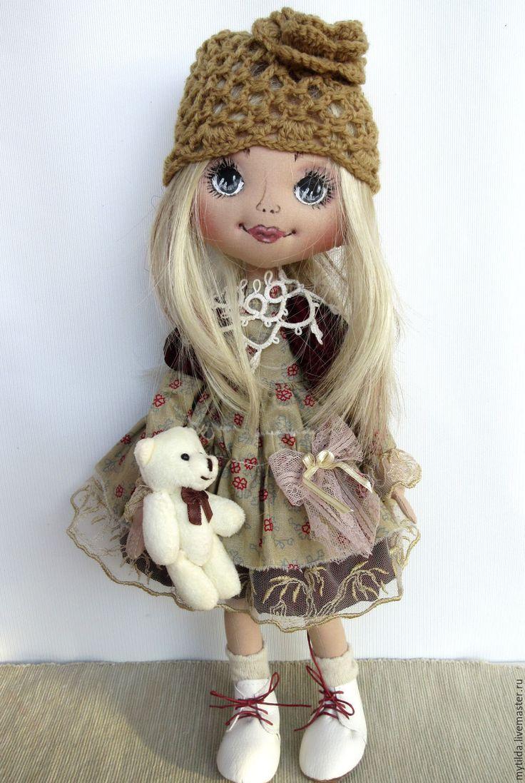 Купить Даша - кукла для девочки, бежевый, 8 марта, 8 марта подарки, подарок девушке