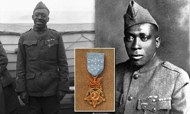 Congress is looking at changing a law that would allow a black World War I soldier fromupstate New York who saved a comrade while fighting off a German attack in France, to be honored.