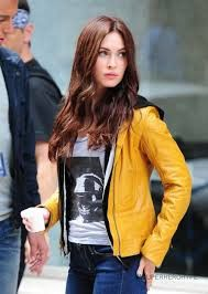 Megan Foxs is no doubt one of the Hollywood actresses who touched the heights of career success at the very young ages of their lives. This American beauty whenever comes to the screens, becomes the sparkle lady to keep the viewers occupied with her hot appeal. Hot Megan Fox Teenage Mutant Ninja Turtle Leather Jacket