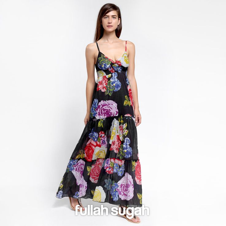 Summer Sales! Μάξι φλόραλ φόρεμα   Από €24.90 τώρα €15.90 Shop now at: http://bit.ly/1sP3SSb  #sales #dress #trend