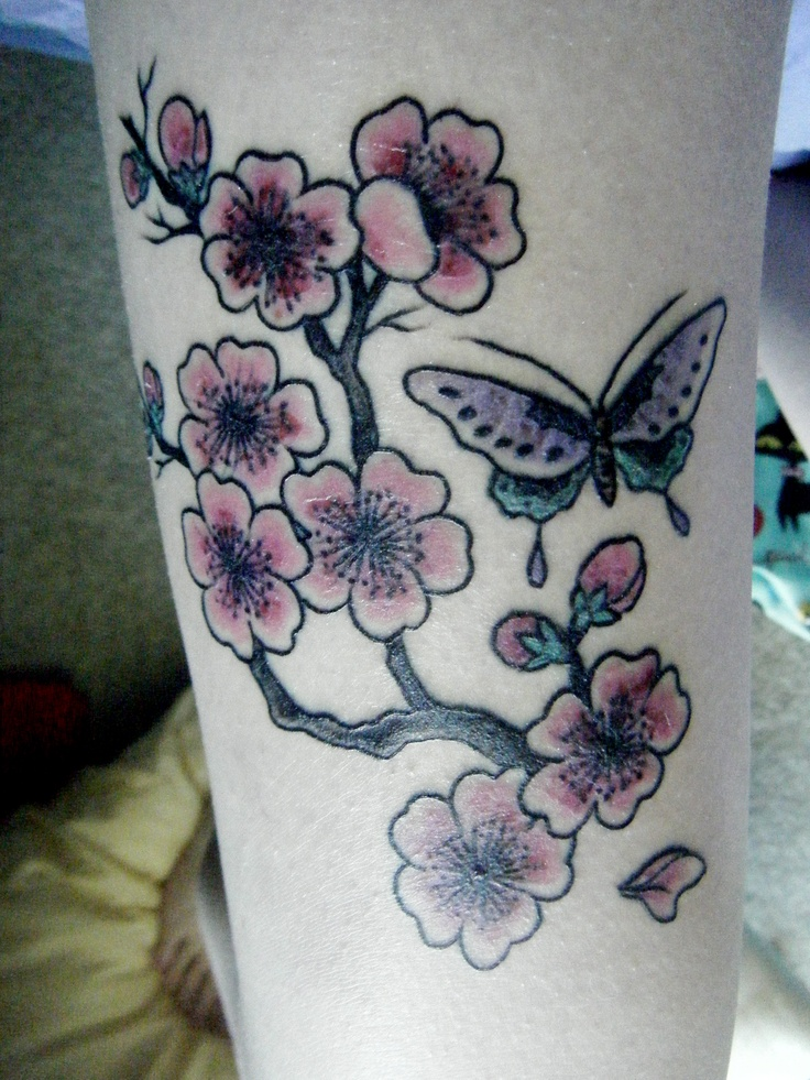 cherry blossom tattoo meanings: hasso