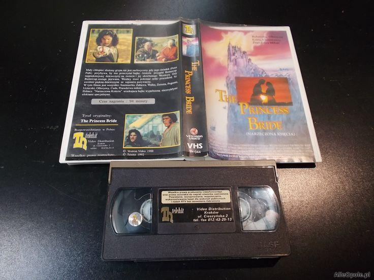 "NARZECZONA KSIĘCIA - kaseta Video VHS - 1395 Sklep ""ALFA"" Opole - AlleOpole.pl (Opole)"