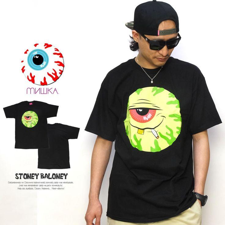 ミシカ MISHKA Tシャツ メンズ STONEY BALONEY :5v4132:DEEP B系・ストリートファッション - 通販 - Yahoo!ショッピング