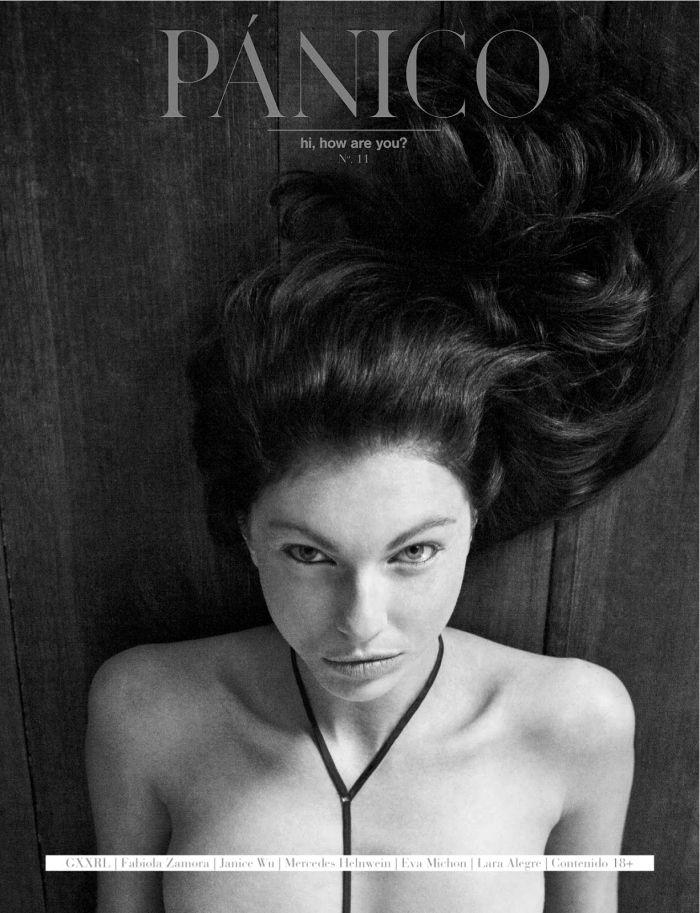 On The Libertine. 'Silent Sight' . Amanda Hansen By Fabiola Zamora For PÁNICO Magazine .Spring 2014. 1