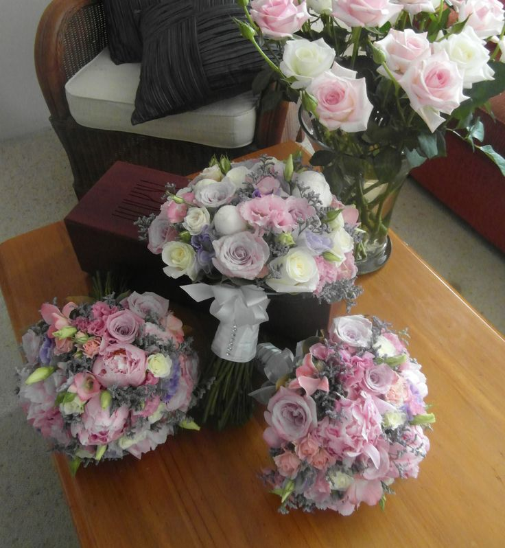 Sarah & Ricky's Wedding - Bouquets