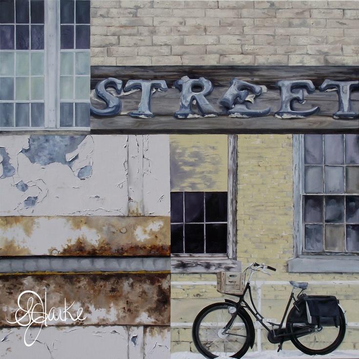 "'Untitled (street)' 2011 (48""x48"") (SOLD)"