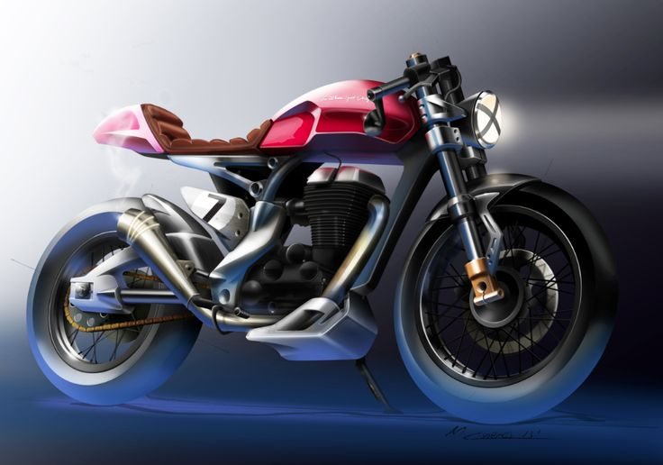 CAFE RACER, Royal Einfield-based