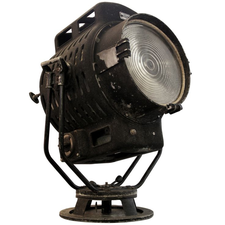Arri | old German film studio lamp (1x) at 1stdibs