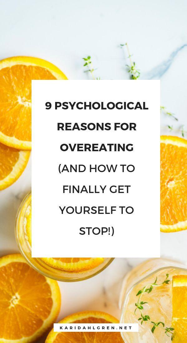 9 überraschende psychologische Gründe für übermäßiges Essen (und wie man d…