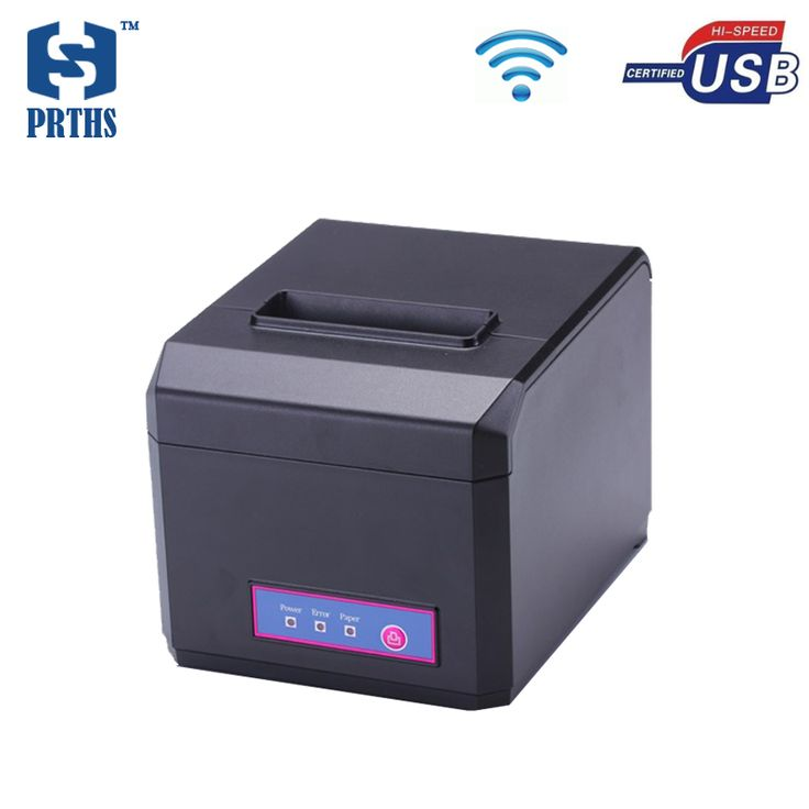 WIFI+USB printer 3inch impresora termica with quality cutter thermal receipt printer support windows10 driver for POS HS-E81UW