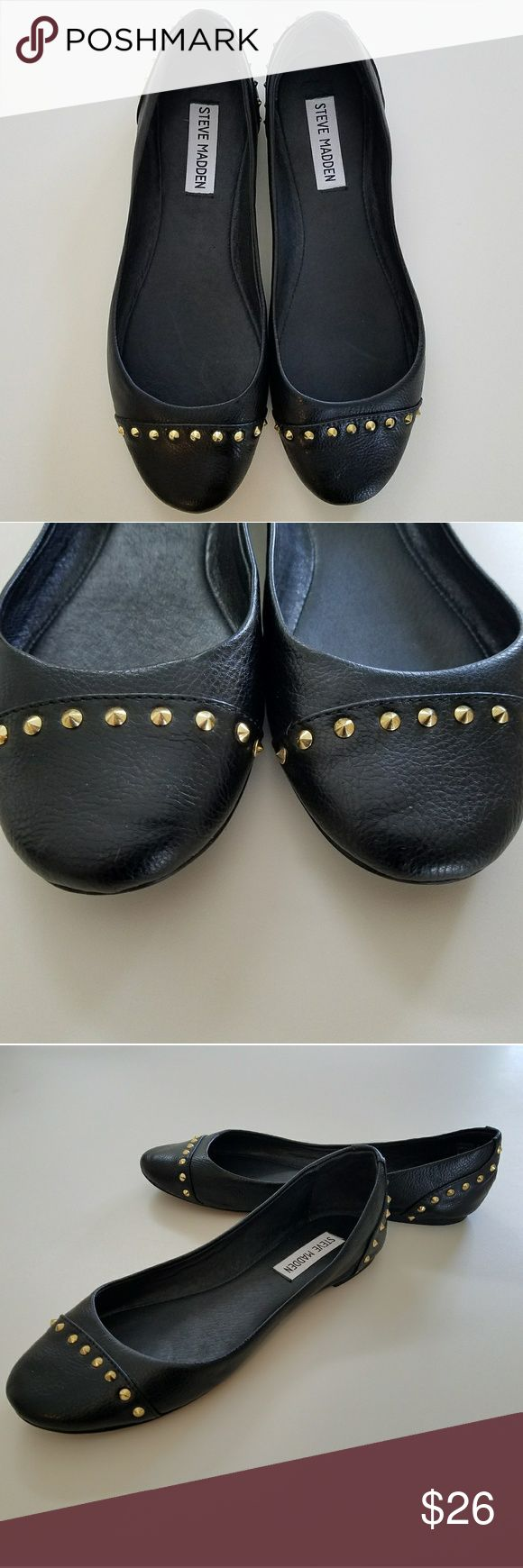 🎀Steve Madden studded ballet shoes🎀 Steve Madden shoes, used, like new Steve Madden Shoes Flats & Loafers